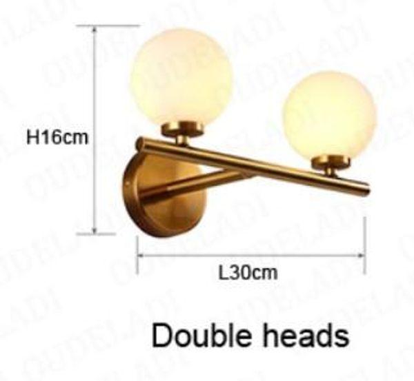 Double head Warm White (2700-3500K)