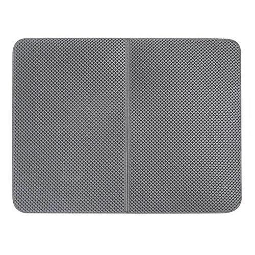 Tapis de litière gris1 46x60cm pliable