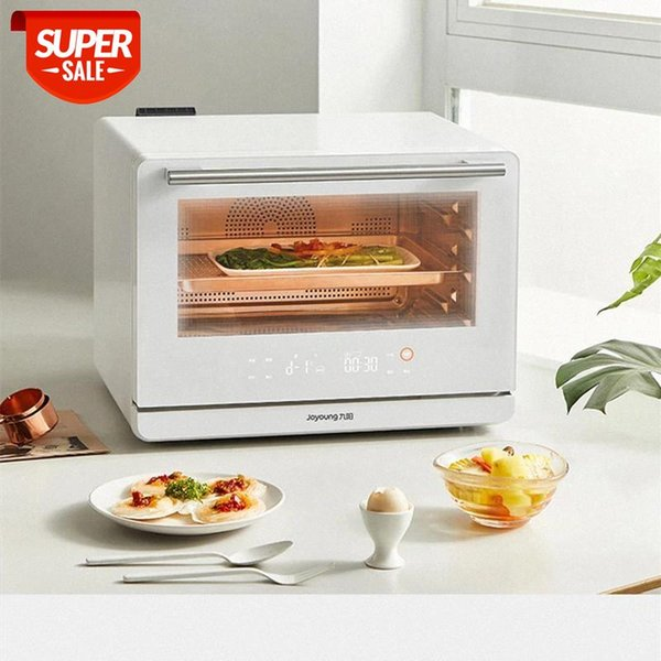 best selling 220V 26L Electric Steam Oven Baking Machine Automatic Electric Food Bread Cake Pizza Oven With Auto Cleaning And Sterilization #HV6f