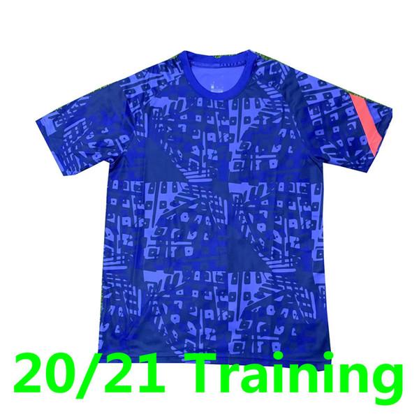 Neues Training Blue.