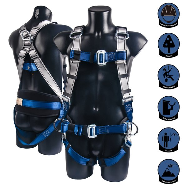 best selling Top Quality Professional Harnesses Rock Climbing High altitude protection Full Body Safety Belt Anti Fall Protective Gear Q1118