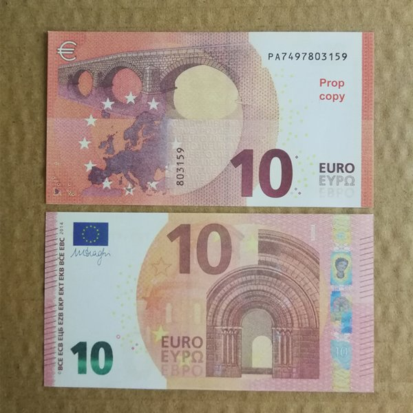 best selling New 10 20 50 100 Euro fake money billet Movie money faux billet euro 20 play Collection and Gifts01