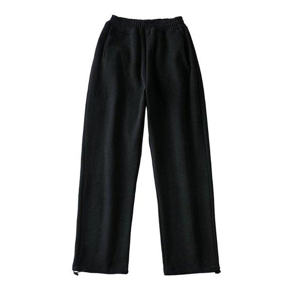 Pantalones de vellón negro