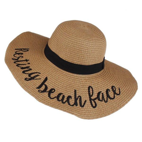 Resting beach face-khaki