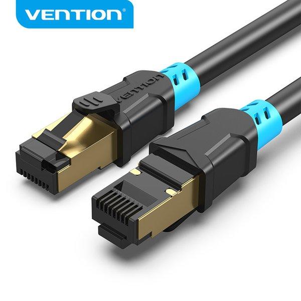 موصلات الكمبيوتر قوي إيثرنت كابل CAT6 محمية الملتوية زوج شبكة إيثرنت كابل القط 6 RJ45 LAN كابل التصحيح LAN الحبل