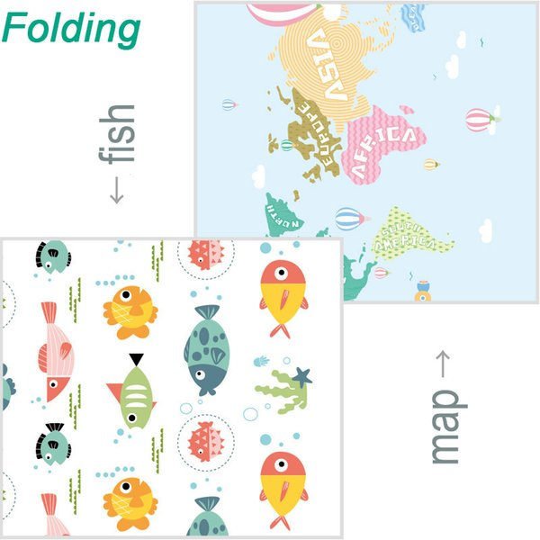 Folding Fish Map