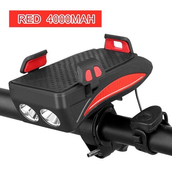 Red 4000mah