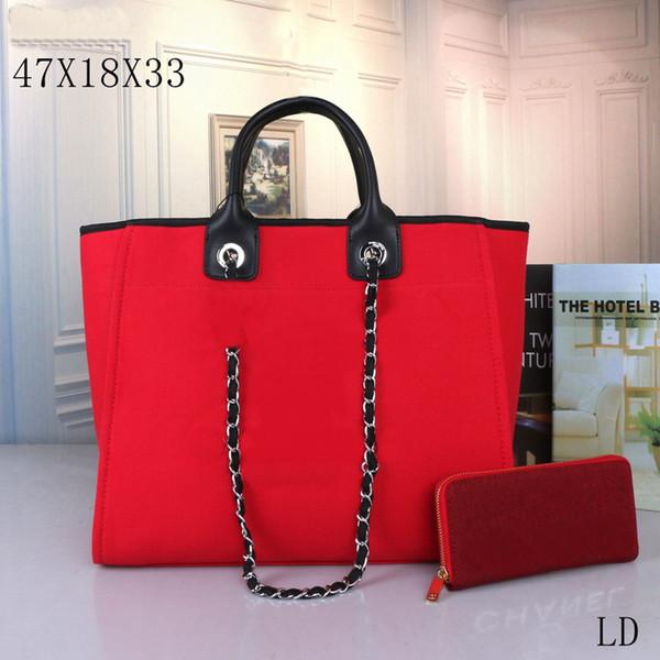 محفظة حمراء +
