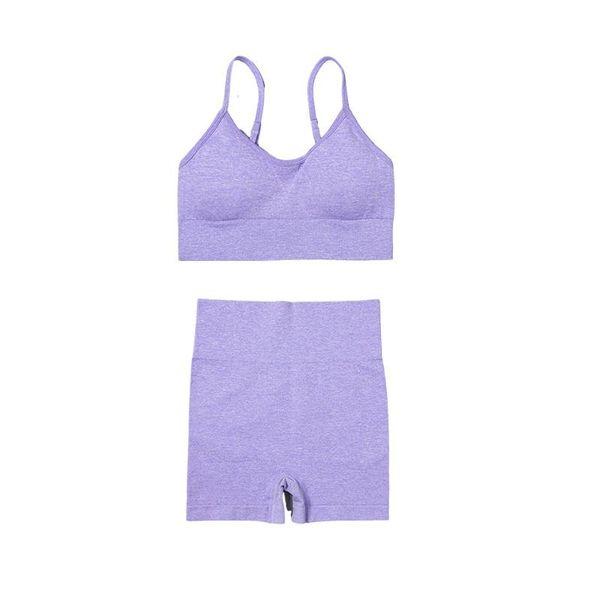 Короткий фиолетовый набор