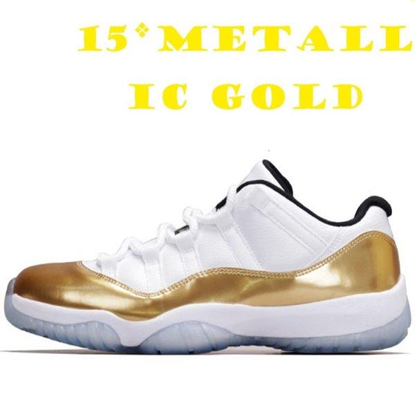 15 металлическое золото