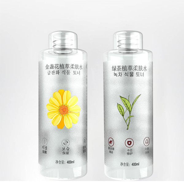 best selling Green tea plant extracts the toner to repair the skin, tighten the skin, long-lasting moisturizing and astringent pores