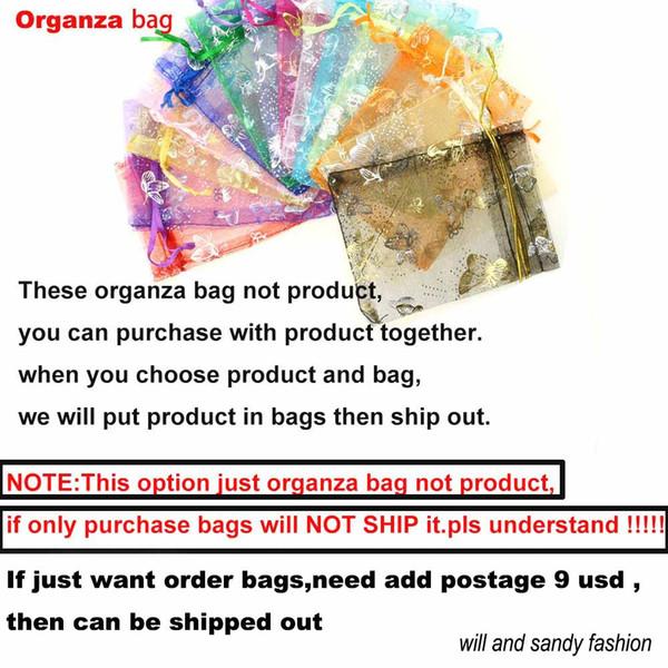 bolsa de organza