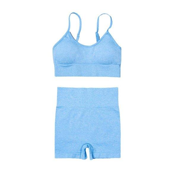Короткий синий комплект