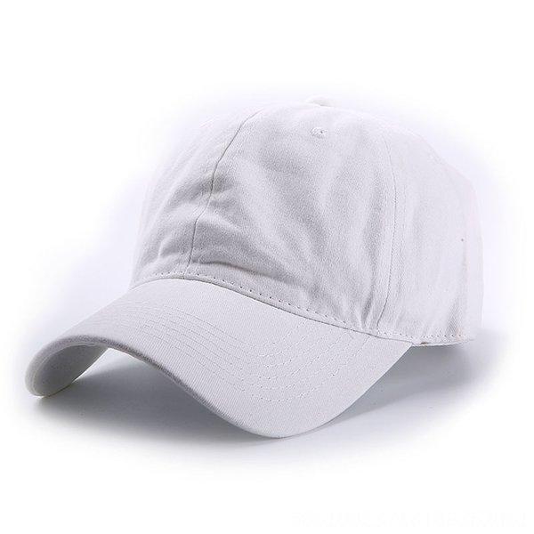 Gewaschene Baseballmütze - weiß