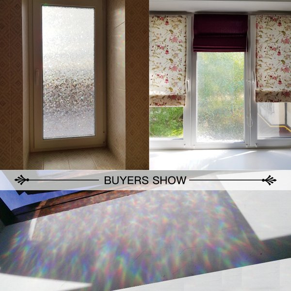 best selling CottonColors Cover Film Home No-Glue 3D Static UV Perfect Decorative Window Glass Stickers 60 x 200cm Y200421