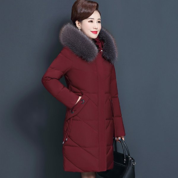 Wine Red Coat-8XL