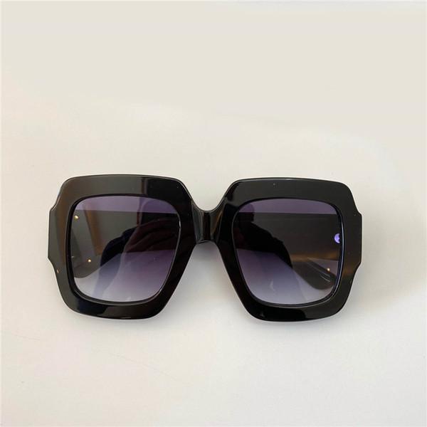 Black Frame Gradient Grey Lens
