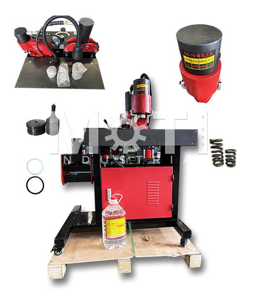 top popular Split Hydraulic Iron Plate Cutting Tools Bar Machine Bus Copper And Aluminum Row Processing Equipment 2020