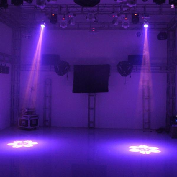 Färben + LED-Muster