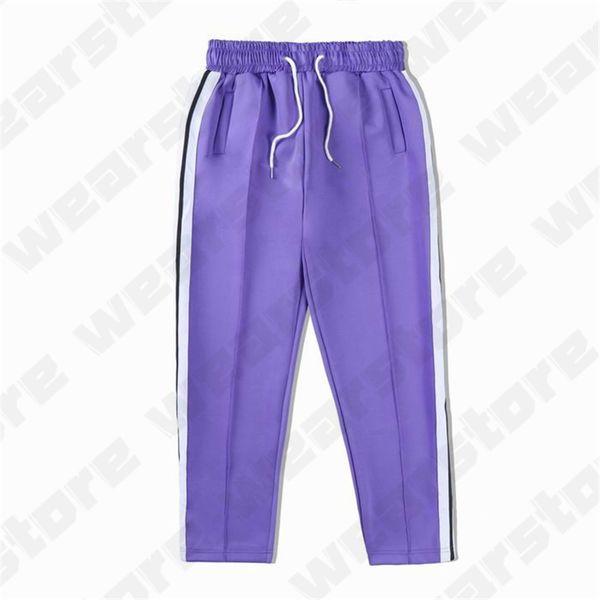 21 pantaloni viola