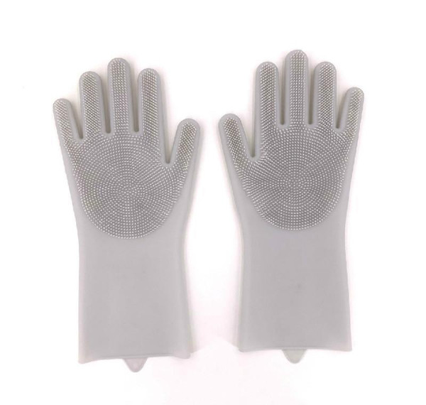 best selling 1pair Gloves Kitchen Sile Cleaning Gloves Dish Washing Glove For Household Rubber Kitchen Clean Tool bbyhuI bdesports