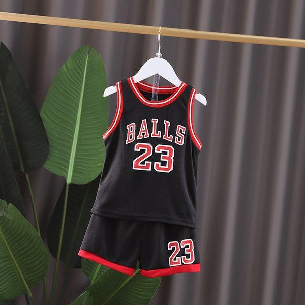 Black Gy Wege Basketball Anzug-80
