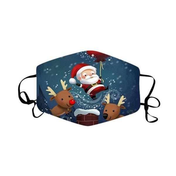 1. Weihnachtsmaske-