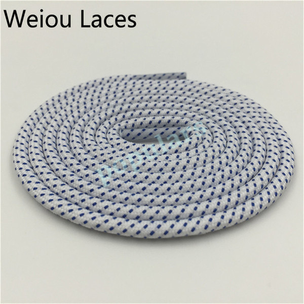 top popular new Wellace Round Rope dusty cactus laces Visible Reflective Runner Shoe Laces Safty Shoelaces Shoestrings 120cm for boots basketball shoes 2021