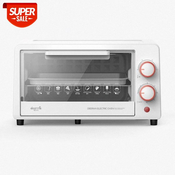 top popular 11L Multifunctional household electric oven Durable Mini Intelligent Timing Baking Dried fruit Barbecue Bread baking #lF0M 2021