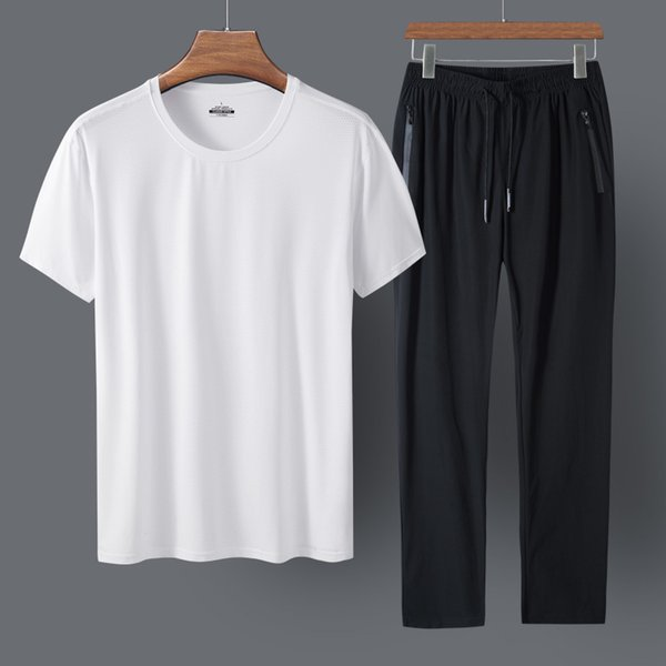White Clothes And Black Trousers