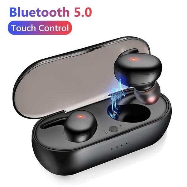 top popular Y30 TWS Wireless Earphones Bluetooth V5.0 Earbuds Mini In-ear Wireless Bluetooth Waterproof Headphone Headset earphone HOT SALE 2021