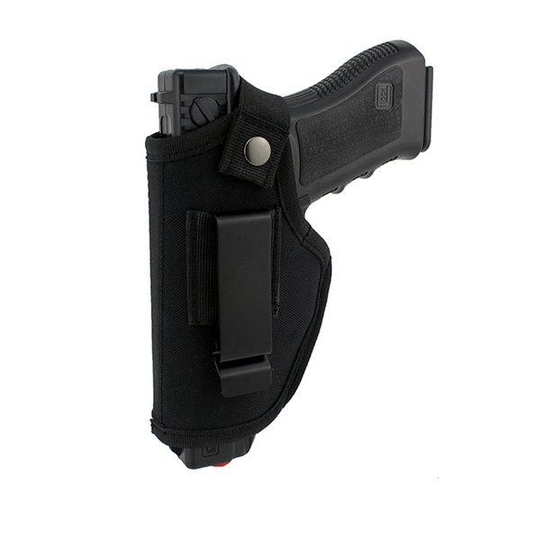 top popular Tactical New Outdoor Concealed Tactical Gun Holster Sports Equipment IWB Hidden Form CS Field Stealth Hunting Cycling Waist Sleeve 2021