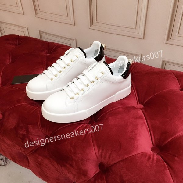 2021top Mans arrival Casual Shoes White Black Red Fashion Mens Women Leather Breathable Shoes Open Low sports Sneakers hc191006