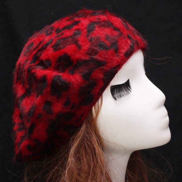 Rojo + leopardo