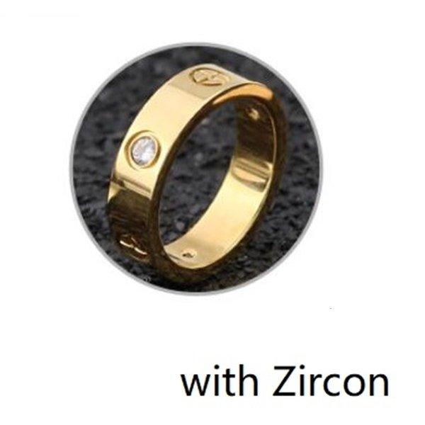 Or avec zirconium