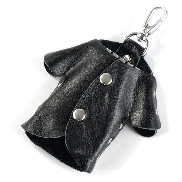 bolso negro llavero