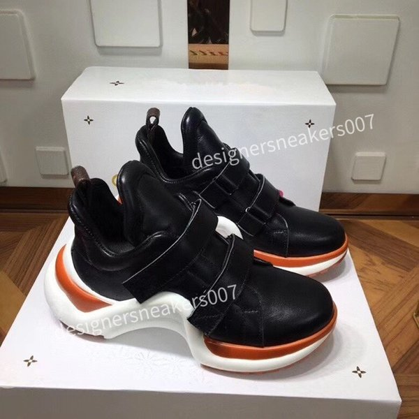 2021top new arrival Casual Shoes White Black Red Fashion Mens Women Leather Breathable Shoes Open Low sports Sneakers jc200909