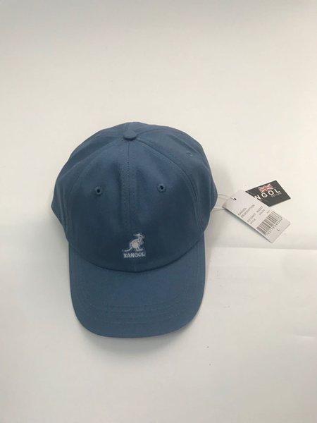 Canguro de algodón béisbol azul claro