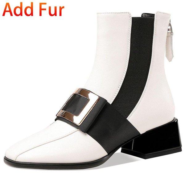 White Add Fur