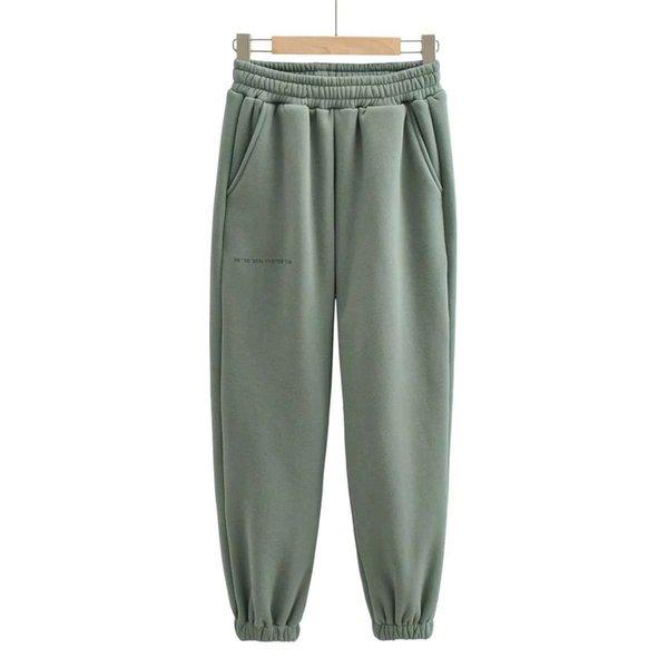 Pantaloni verdi grigi