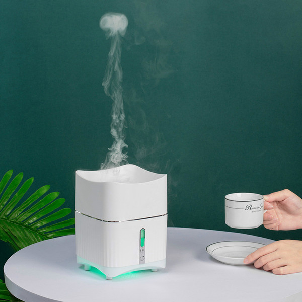 best selling Smoke ring aromatherapy machine humidifier household bedroom electric essential oil aromatherapy furnace Airborne jellyfish mist spectromete