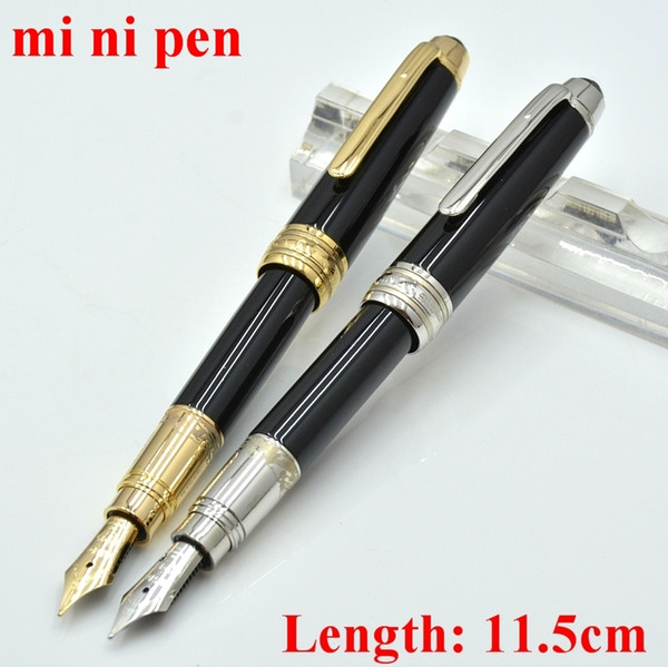 best selling High Quality mini metal Fountain pen school office stationery luxur calligraphy ink pens for birthday Gift