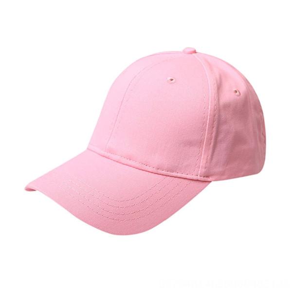 Casón de béisbol de cola de caballo algodón - rosa