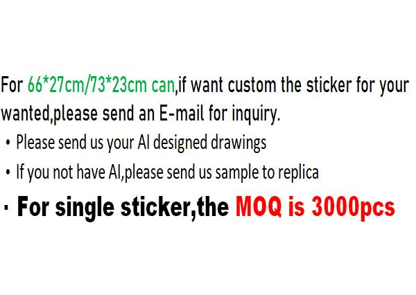 Custom sticker inquiry