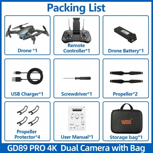 4K Pro HD with bag