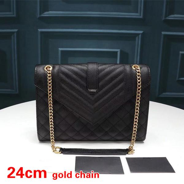 Rhombus Black Gold-24cm