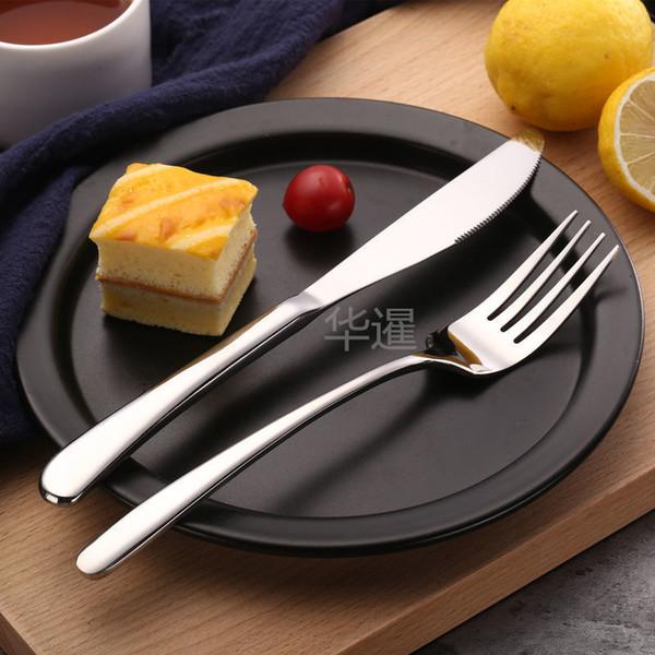 High Grade stile elegante Knife Fork 304