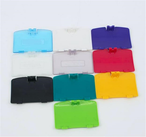 top popular Battery Cover Pack Back Door Shell Replacement For Game boy Color GBC UPS DHL FEDEX FREE SHIPPING 2021