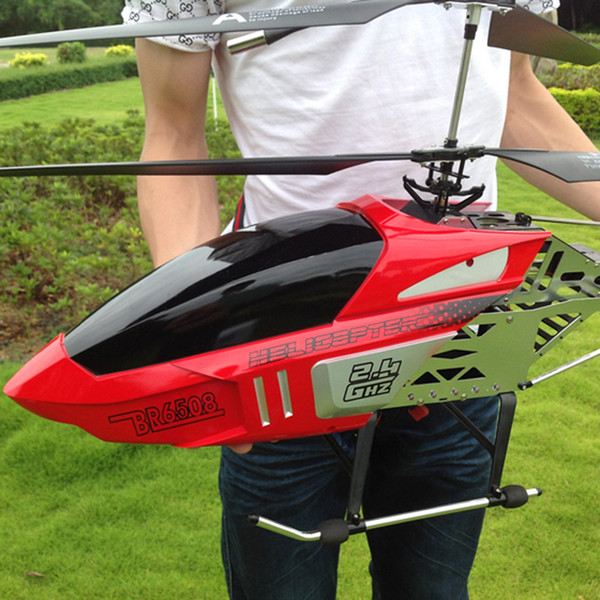 best selling High Quality Super Large Remote Control Aircraft Fall Resistant Helicopter Rechargeable Toy Aircraft Model 201208