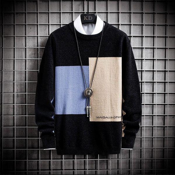 Beige Pullover-Männer